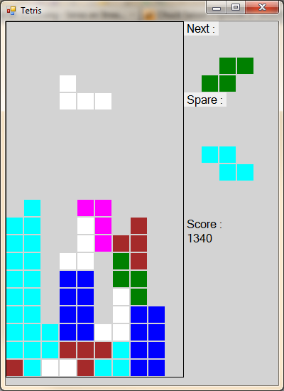 Tetris Screen Capture